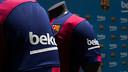 Beko, sur la manche du maillot / PHOTO: GERMÁN PARGA-FCB