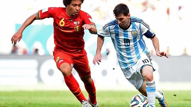 Leo Messi led Argentina to victgory against Belgium / PHOTO: FIFA
