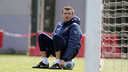 Luis Enrique learned a lot from his different managers / PHOTO: FCB Archive