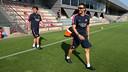 Luis Enrique ha dirigit el primer entrenament de la pretemporada 2014/15 / FOTO: MIGUEL RUIZ - FCB