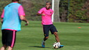 Rafinha returned to training on Monday / PHOTO: MIGUEL RUIZ-FCB
