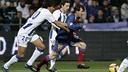 Messi was one of the goalscorers in Huelva in 2008. PHOTO: MIGUEL RUIZ - FCB