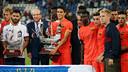 Durante la pretemporada, el FC Barcelona ya se impuso al Recreativo en el Trofeo Colombino / FCB