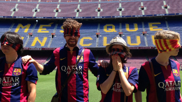 Selfies contest at Camp Nou Experience