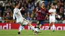 Messi and Cristiano Ronaldo appeared in the clásico at the Bernabéu last season. PHOTO: MIGUEL RUIZ-FCB.