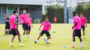 Internationals return to training / PHOTO: GERMÁN PARGA - FCB