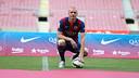 Mathieu est le seul défenseur gaucher du Barça actuellement / PHOTO : MIGUEL RUIZ-FCB