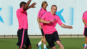 Rakitic and Mathieu are two of the experienced players signed by Barça / PHOTO: MIGUEL RUIZ - FCB