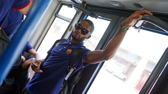 Alex Song  / PHOTO: MIGUEL RUIZ-FCB
