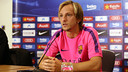 Ivan Rakitic was speaking to the media at George's Park / PHOTO: MIGUEL RUIZ - FCB