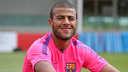 Barça's Rafinha was in action against Palestine / PHOTO: MIGUEL RUIZ - FCB
