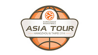 Euroleague Basketball Asian Tour Logo. /PHOTO:Euroleague