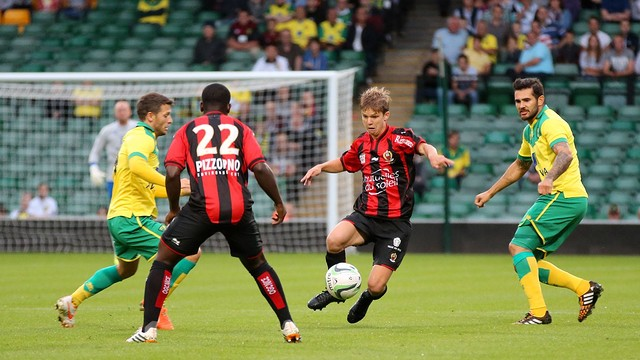 Nice lost their last preseason game against Norwich / PHOTO: OGC NICE