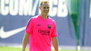 Ter Stegen is training hard for the new season / PHOTO: MIGUEL RUIZ-FCB