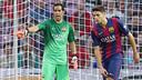 Claudio Bravo made his debut for FC Barcelona / PHOTO: MIGUEL RUIZ - FCB