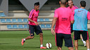 Neymar rejoined his colleagues on Monday morning / PHOTO: MIGUEL RUIZ-FCB