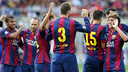 The new Barça squad will be presented to the fans / PHOTO: MIGUEL RUIZ - FCB