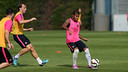 Rafinha prepared for the Joan Gamper Trophy / PHOTO: MIGUEL RUIZ - FCB