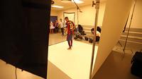 Neymar sedang melakukan sesi pemotretan