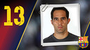 Portrait Claudio Bravo. Number 13