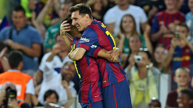 FC Barcelona � Club Le�n: Une vrai fête du Gamper (6-0)
