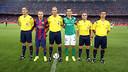 Álvarez Izquierdo was the referee at the Joan Gamper Trophy match / PHOTO: MIGUEL RUIZ - FCB