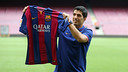 Luis Suárez, au Camp Nou. PHOTO: MIGUEL RUIZ - FCB