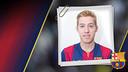 Imatge oficial de 'Bateria' amb la samarreta del FC Barcelona