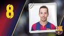 Imatge oficial de Lin amb la samarreta del FC Barcelona