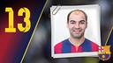 Imatge oficial de Wilde amb la samarreta del FC Barcelona