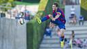 Babunski, en el partido amistoso de pretemporada contra el UE Figueres / FOTO: ARXIU FCB