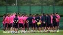 Les joueurs, à l'entrainement / PHOTO: MIGUEL RUIZ - FCB