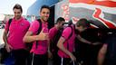 Futsal team back inBarcelona / Photo: G. Parga
