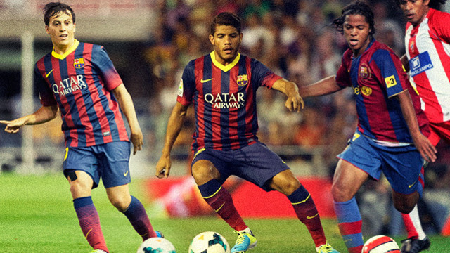 Espinosa, Jonathan & Giovani Do Santos have all worn the Barça jersey in the past