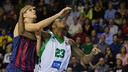 DeShaun Thomas and Nachbar in the game in the Palau. PHOTO: Archive FCB