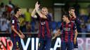 Mathieu, à Villareal / PHOTO: MIGUEL RUIZ - FCB