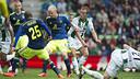 Els jugadors de l'Ajax davant el Groningen / FOTO: AJAX