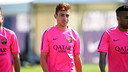 Munir is fit to join the Spanish Under 21s / PHOTO: MIGUEL RUIZ - FCB