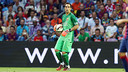 Claudio Bravo mantiene su portería a cero / FOTO: MIGUEL RUIZ - FCB