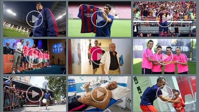 August 2014 top videos
