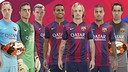 FC Barcelona new faces 2014-15