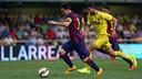Leo Messi face à Villareal / PHOTO: MIGUEL RUIZ - FCB
