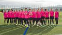 Les joueuses pendant le spot / PHOTO: VÍCTOR SALGADO - FCB