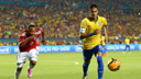 Neymar in action against Colombia. PHOTO: fifa.com