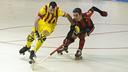 Panadero y Selva luchan por la bola / FOTO: ARCHIVO FCB