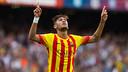 Neymar Jr scored a brace against Athletic Bilbao / PHOTO: GERMÁN PARGA-FCB