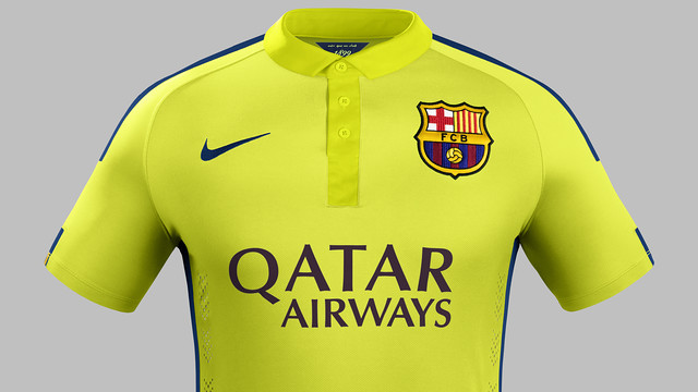 The new strip will be worn for the first time in an official match at Paris St Germain on September 30