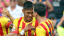 Neymar and Messi were outstanding together against Athletic Bilbao. PHOTO: MIGUEL RUIZ-FCB.