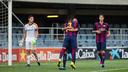 Barça's U19 raced to victory against APOEL. FOTO: MIGUEL RUIZ-FCB.