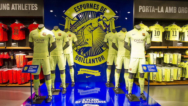Barça's third kit is now available for purchase/ PHOTO: VÍCTOR SALGADO